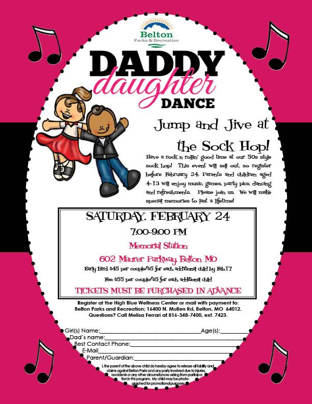 Daddy Daughter 2018 flyer